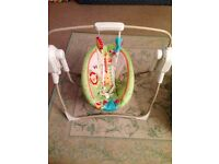 Fisher Price Baby Rocking Swing with Music and vibrating modes