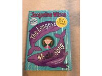 The Longest Whale Song by Jacqueline Wilson (Hardback, 2010) PLUS POSTAGE