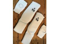 Karate padded protective gear