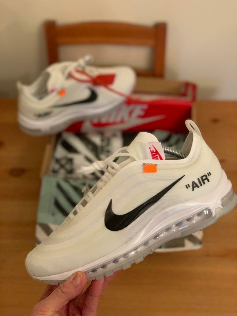 uk availability e4b38 c2582 Nike air max 97 off white UK Size 9