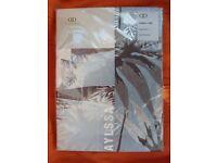 Dreams 'N' Drapes Aylssa Exotic Design Single Duvet & Pillow Case New & sealed