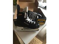 Ice skates size 13 worn once