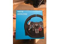 Racing wheel for PS4_PS3 model G29 logitech