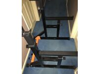 Mirafit Squat/bench & Dip Rack.