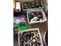 43kg All Genuine Lego plus minifigures