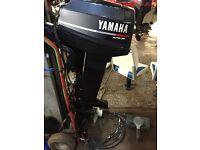 25hp yamaha outboard motor (longshaft)