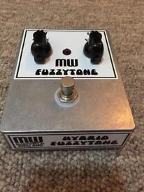 MW Fuzzytone Fuzz pedal