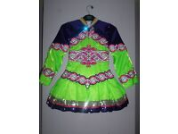 Irish Dancing Dress - suitable for an 10/12 year old