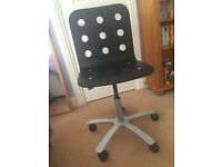 IKEA black office chair