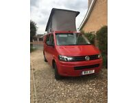 VW T30 Automatic 2011 T5 4 berth camper van complete set up ready to go with Vango Air Awning and