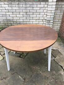 1960s drop leaf table