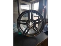 "Genuine Mercedes E Class AMG Diamond Cut 19"" Rear Alloy Wheel"