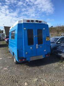 Ex ambulance van conversion