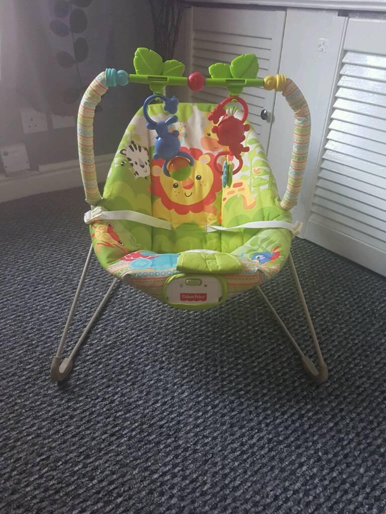 Fisher price vibrating baby bouncer   in Preston ...