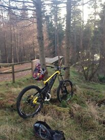 Saracen myst pro 2013 downhill bike size large