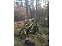 Saracen myst pro 2013 downhill bike size large