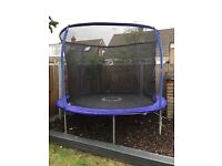 10ft Trampoline with safety netting