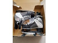 Nearly New Ice Hockey Boots - Size 8