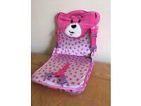 Build a Bear suitcase teddy seat
