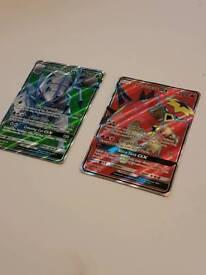 Pokemon Cards Golisopod and Turtonator GX Full Art