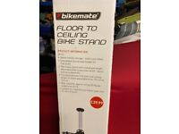 Bike 2 tier stack stand- floor to ceiling
