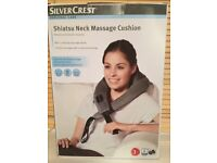 Silvercrest Shiatsu Neck Massage Cushion