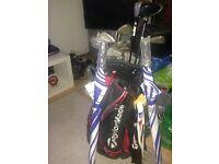 Taylor Made Golf Bag + Mizuno Clubs