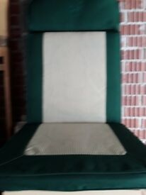 Garden chair seat covers for sale £50.
