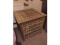 Laundry basket ikea box coffee table