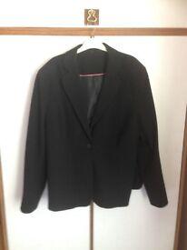 Ladies formal black jacket