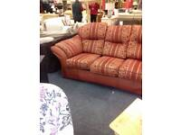 Beautiful red and gold fabric suite