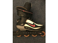 Nike Air Mens Roller Blades - Size 9 (UK) - With Travel Bag