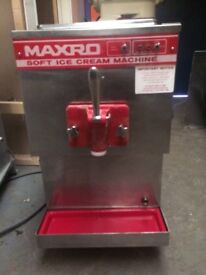 ce Cream Machine,Bench Top Maxro ,Good Clean Working Order ,Single Phase Electric