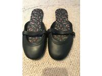 Shoes black flat summer shoes size 6
