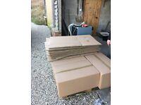 20 x 64l cardboard boxes