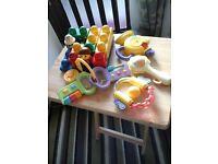 Assortment of children's toys