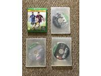 Xbox one games FIFA 15, assassins creed unity, forza 2 and cod ghosts