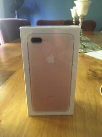 Brand new still in box I phone 7 plus 32gb