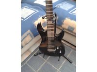 7 string electric guitar min cond