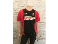 AFC Bournemouth Football Shirt, 2003/04, Size Medium, Bourne Red, Great