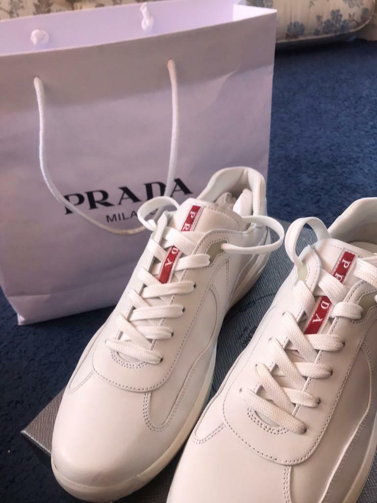 afba0814 Prada trainers size 10 | in Dartford, Kent | Gumtree