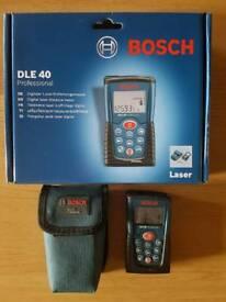 Bosch DLE 40 Digital laser distance meter