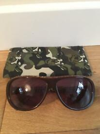 Lovely genuine Animal sunglasses with original cloth case.