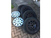 BMW 1 series winter wheels and tyres