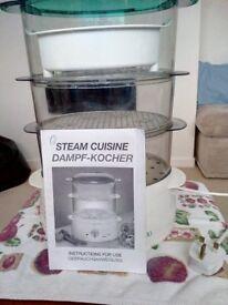 3 Tier Steamer Inc Rice dish