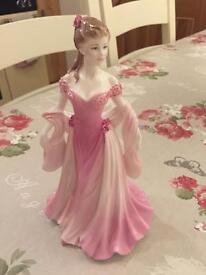 Coalport lady doll