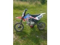 Yx140 stomp racing pit bike like new