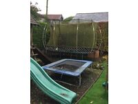 Springfree Trampoline Model SF60E - approximately 7 years old, condition reflects age and use