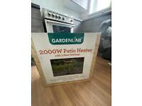 Gardenline 2000W Free Standing Electric Patio Heater