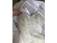 Wedding dress , size 12-14, stunning !